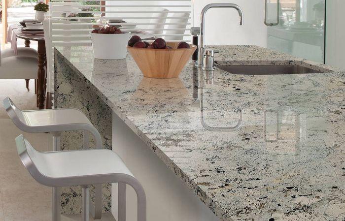 Encimeras de granito encimeras materials miquel almac n de materiales de construcci n y - Materiales de encimeras de cocina ...
