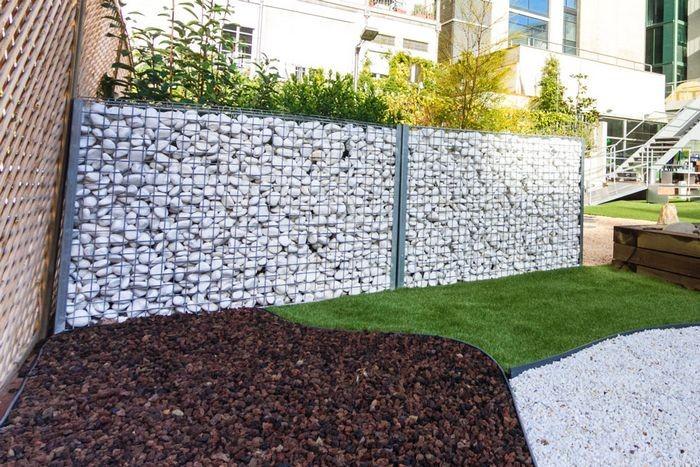 Ocultaci n y separaci n de espacios jardiner a - Vallas de separacion ...
