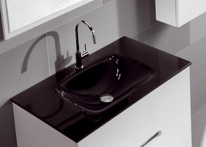 Lavabos de cristal ba os y complementos materials - Lavabo de cristal ...