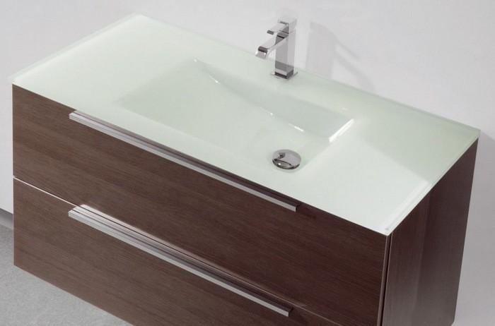 Lavabos en verre salles de bains et accessoires for Accessoires lavabo salle bain