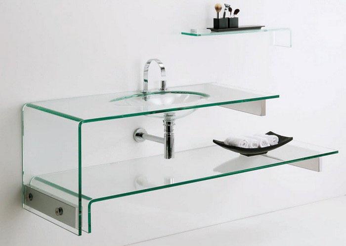 Lavabos en verre - Salles de bains et accessoires - Materials Miquel ...