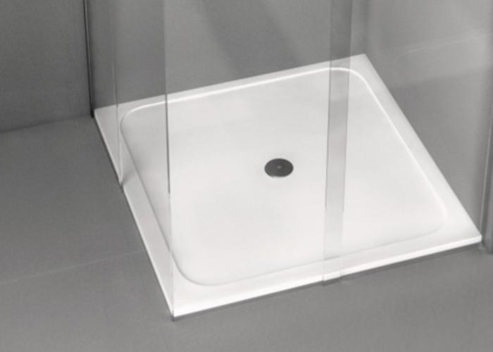 Plats de dutxa de silestone banys i complements for Plats de dutxa
